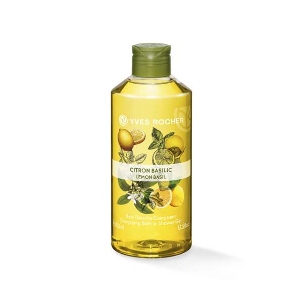 Energizing Bath & Shower Gel - Lemon Basil