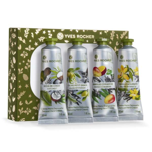 4 Hand Creams - Les Plaisirs Nature