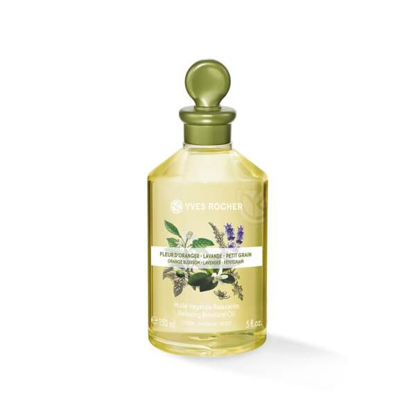 Relaxing Botanical Oil – Body & Massage - Orange Blossom - Lavender