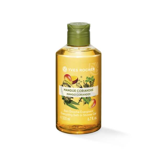 Energizing Bath & Shower Gel - Mango Coriander