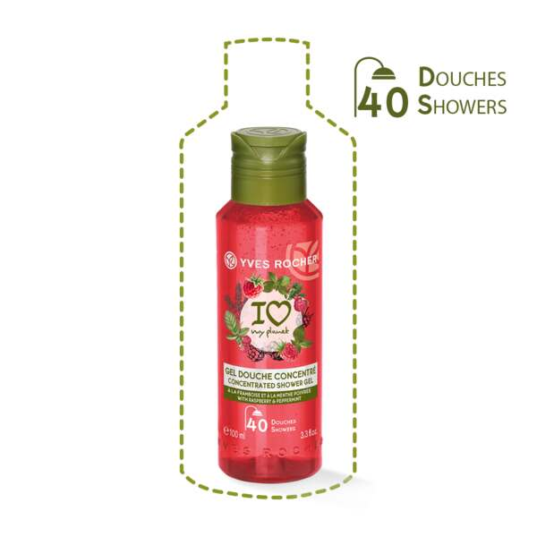 Concentrated Shower Gel - Raspberry Peppermint