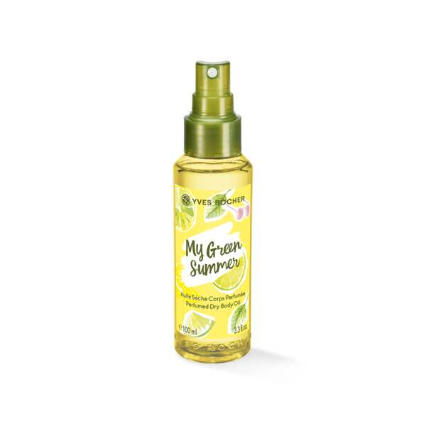 Perfumed Dry Body Oil