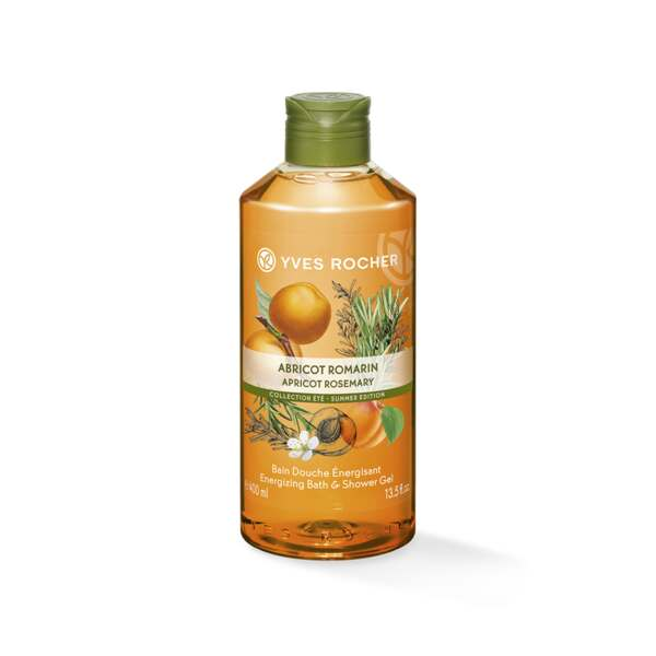 Energizing Bath & Shower Gel - Apricot Rosemary