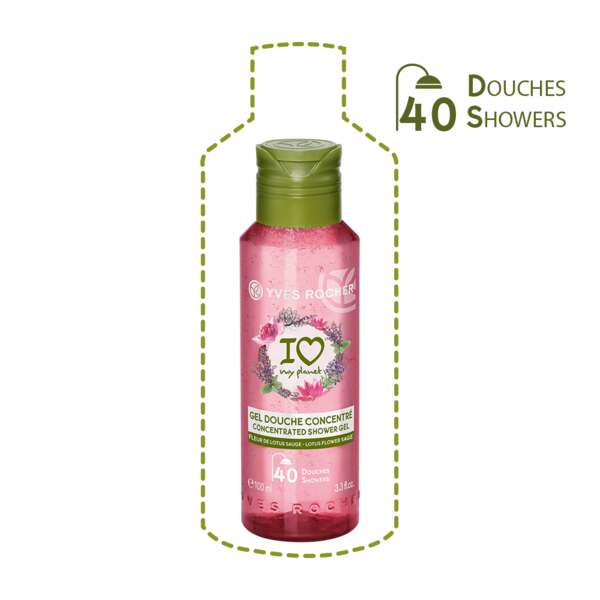 Concentrated Shower Gel Lotus Flower