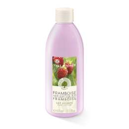 Organically-grown Raspberry Silky Body Lotion
