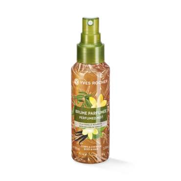 Sensual Perfumed Body and Hair Mist - Bourbon Vanilla