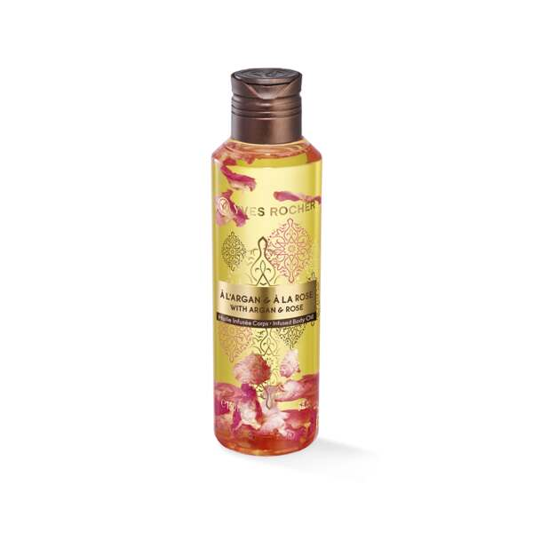 Argan Rose Infused Body Oil - body care