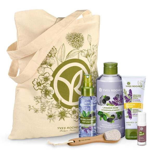 Relaxing Lavandin Blackberry Gift Set,Body care and Shower,Gift idea, beauty routine