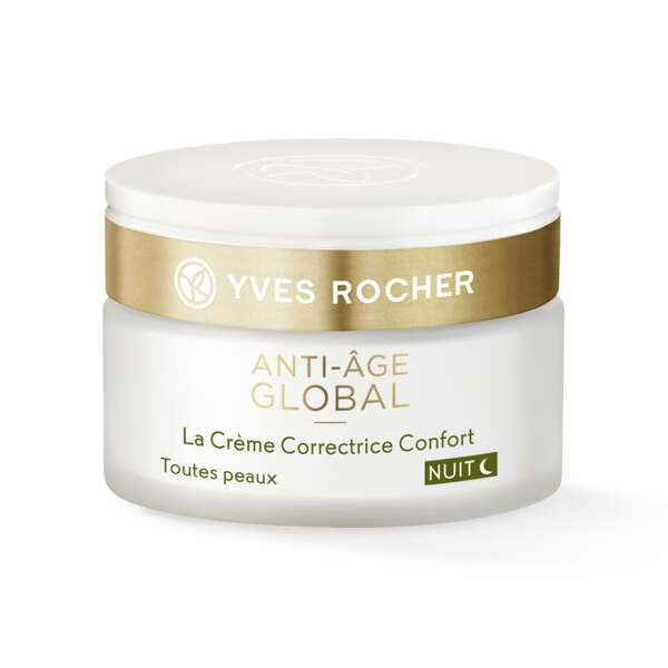 The Anti-Aging Comfort Cream Night - All Skin Types - anti-wrinkles - skincare