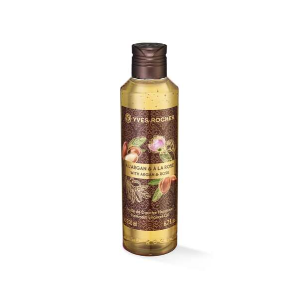 Argan Rose Hammam Shower Oil