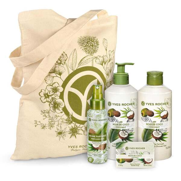 Sensual Coconut Body and Shower Set  - 4 - Gift ideas - Gift ideas