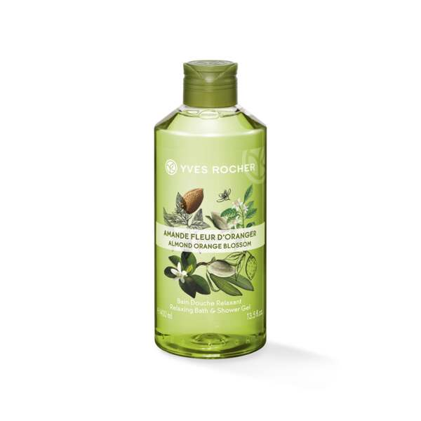 Relaxing Bath & Shower Gel - Almond Orange Blossom