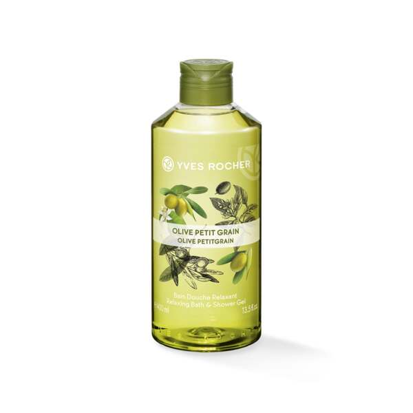 Relaxing Bath & Shower Gel - Olive Petitgrain