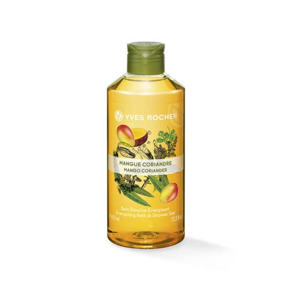 Energizing Bath andShower Gel - Mango Coriander