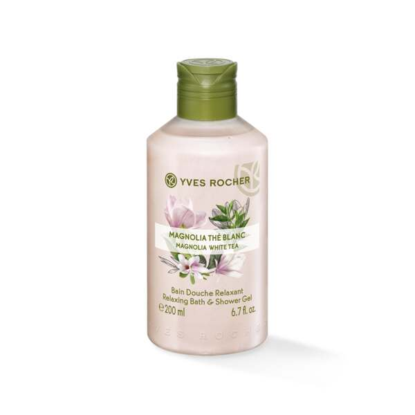 Relaxing Bath and Shower Gel - Magnolia White Tea Relaxing