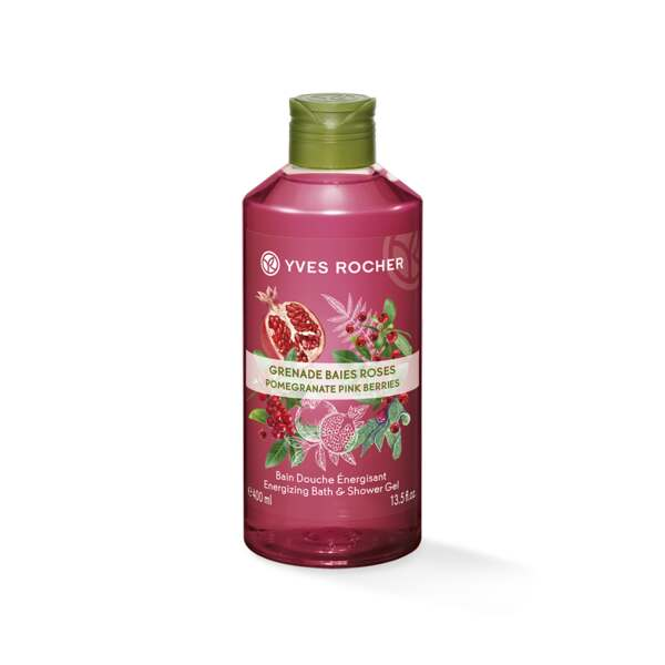 Energizing Bath and Shower Gel - Pomegranate Pink Berries