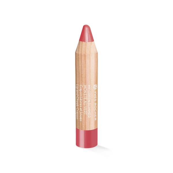 Lip & Cheek Crayon - Makeup,lips,cheeks,complexion,My Green Summer