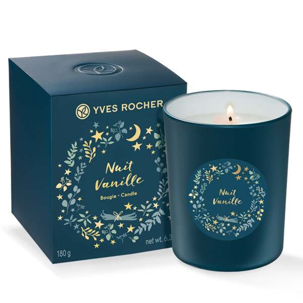 Nuit Vanille candle