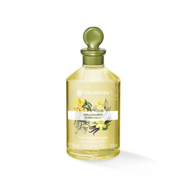 Sensual Botanical oil – Body & Massage - Bourbon Vanilla