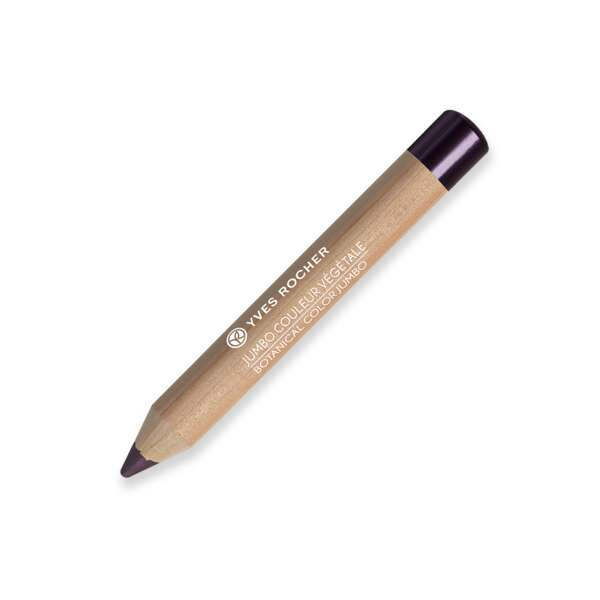 BOTANICAL COLOR JUMBO 2-in-1 jumbo eye pencil : eyeshadow and liner - Pearly Plum Hydrangea