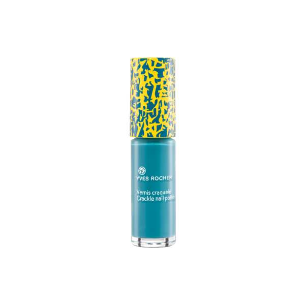 Summer Collection Crackle Nail Polish - Mediterranean Blue
