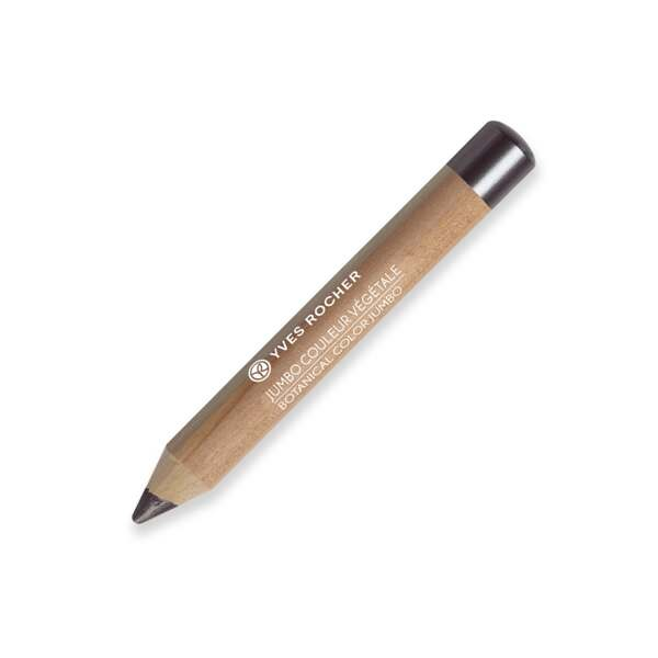 BOTANICAL COLOR JUMBO 2-in-1 jumbo eye pencil : eyeshadow and liner - Pearly Grey Gold