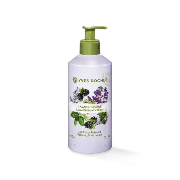 Lavandin Blackberry - Relaxing Body Lotion