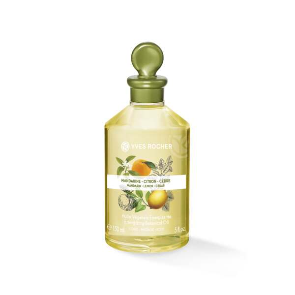 Energizing Botanical Oil– Body & Massage - Mandarin Lemon Cedar
