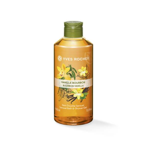 Sensual Bath & Shower Gel - Bourbon Vanilla