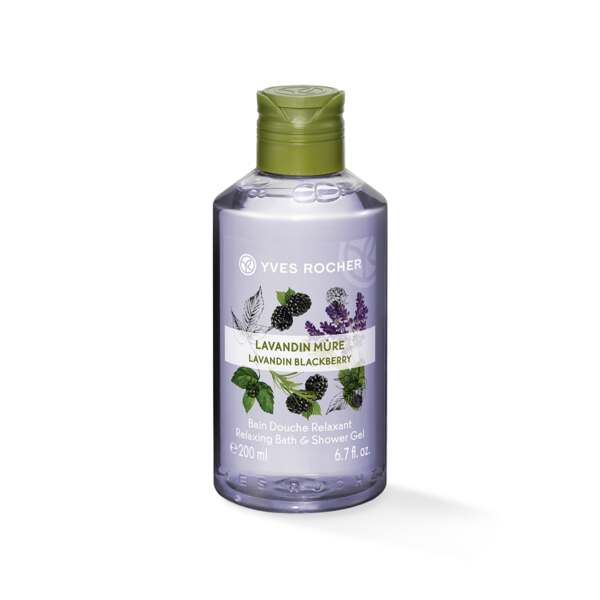 Relaxing Bath & Shower Gel - Lavandin Blackberry