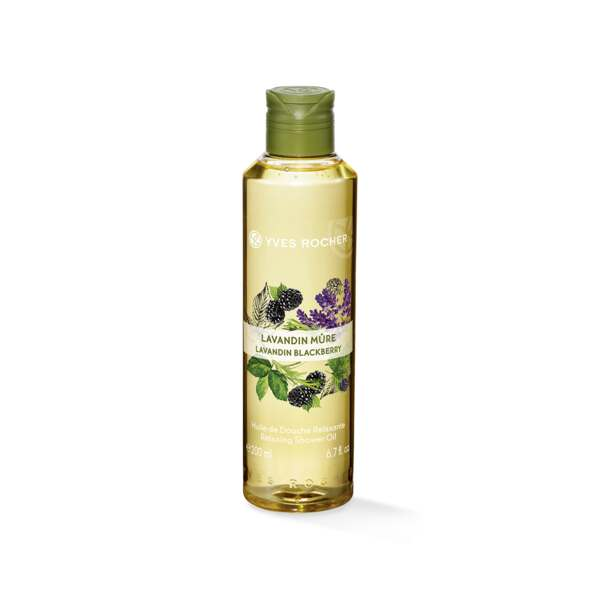 Lavandin Blackberry - Relaxing Shower Oil