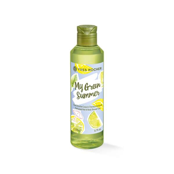 Perfumed Hair & Body Shower Gel - Body,body care,shower gel,My Green Summer