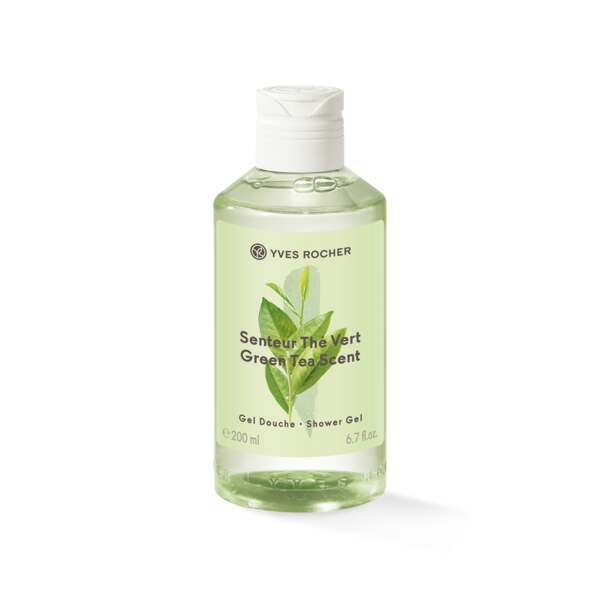 Green Tea Scent Shower Gel, hygiene