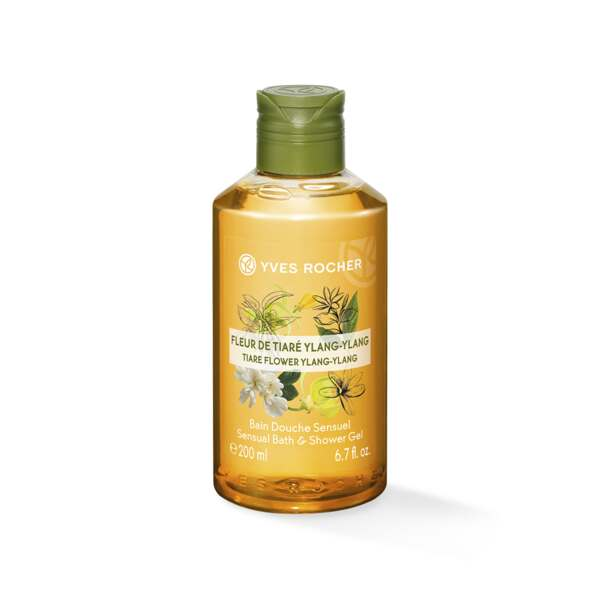 Sensual Bath & Shower Gel - Tiare Flower Ylang-Ylang