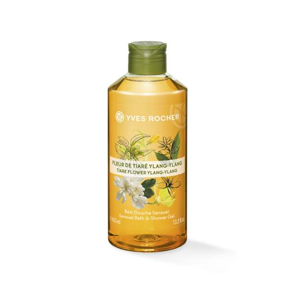 Sensual Bath and Shower Gel - Tiare Flower Ylang-Ylang
