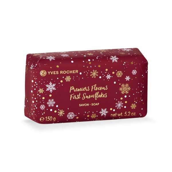 First Snowflakes Soap, Body Soaps, Holiday Collection