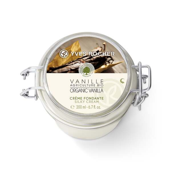 Organic Vanilla Silky Body Cream