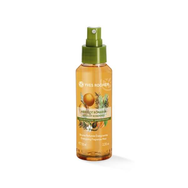 Energizing fragrance mist Apricot Rosemary