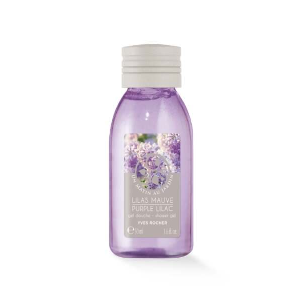 Purple Lilac Shower Gel - Travel Size