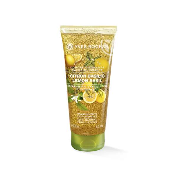 Exfoliating Shower Gel - Lemon Basil