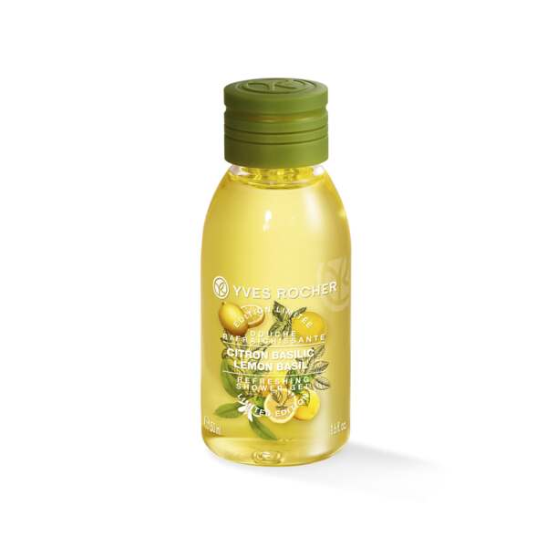 Lemon Basil Shower Gel - Travel size