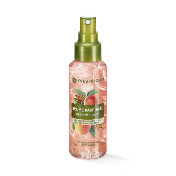 Peach Star Anise Perfumed Body and Hair Mist