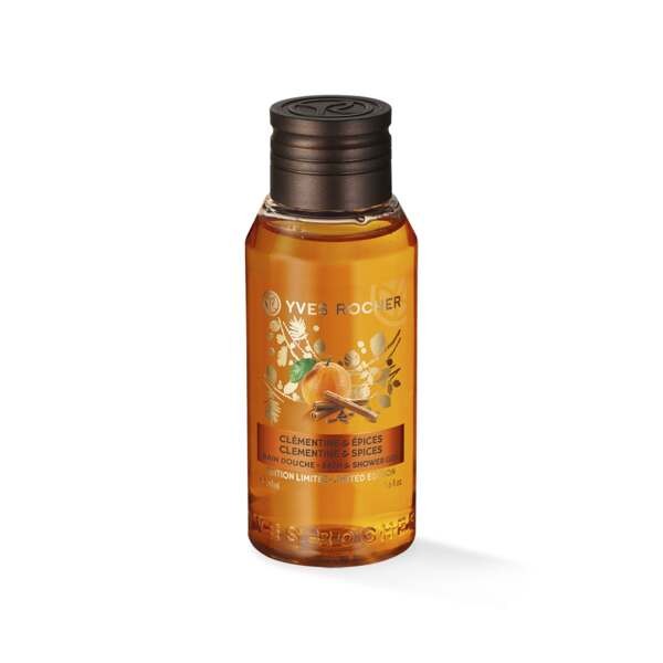 Clementine & Spices Bath & Shower Gel - Travel Size