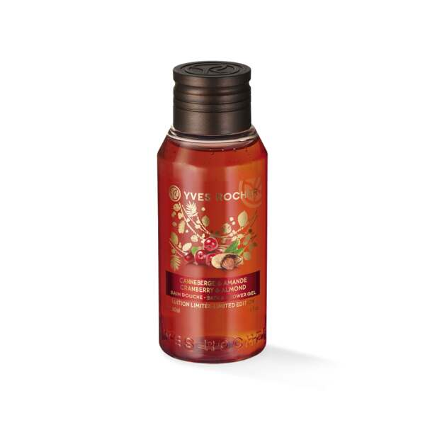 Cranberry andAlmond Bath andShower Gel - Travel Size