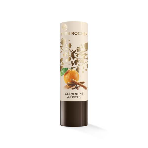 Nourishing Lip Balm - Clementine & Spices scent