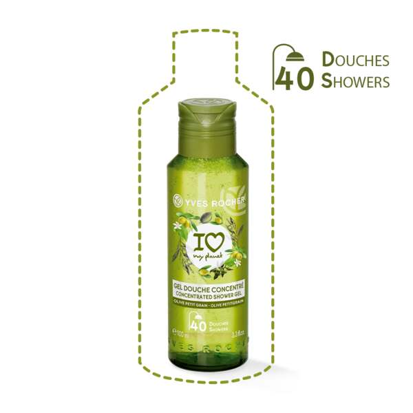 Concentrated Shower Gel - Olive Petitgrain