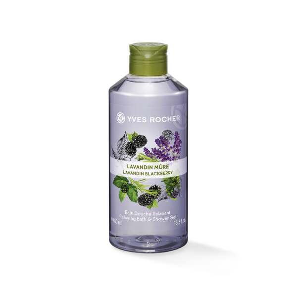 Lavandin Blackberry - Relaxing Bath andShower Gel at $8!