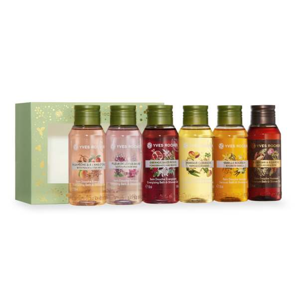 6 Bath & Shower Gels Box Set - Yves Rocher