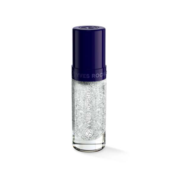 Silver Glitter Top Coat for Nail