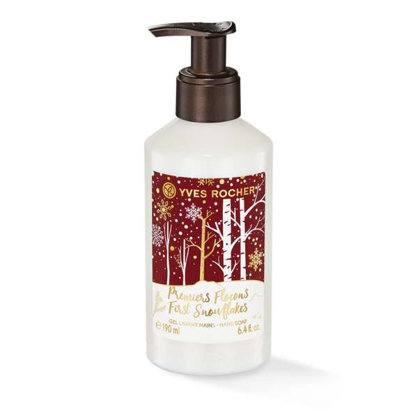 First Snowflakes Liquid Hand Soap, Liquid Hand Soaps 190 ml, Holiday Collection